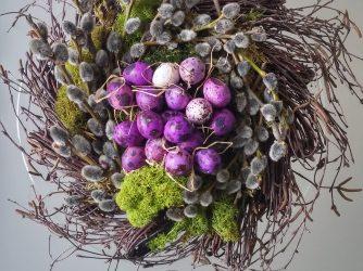 Alchemia AURUM Wielkanoc w wykonaniu Atelier mchu.