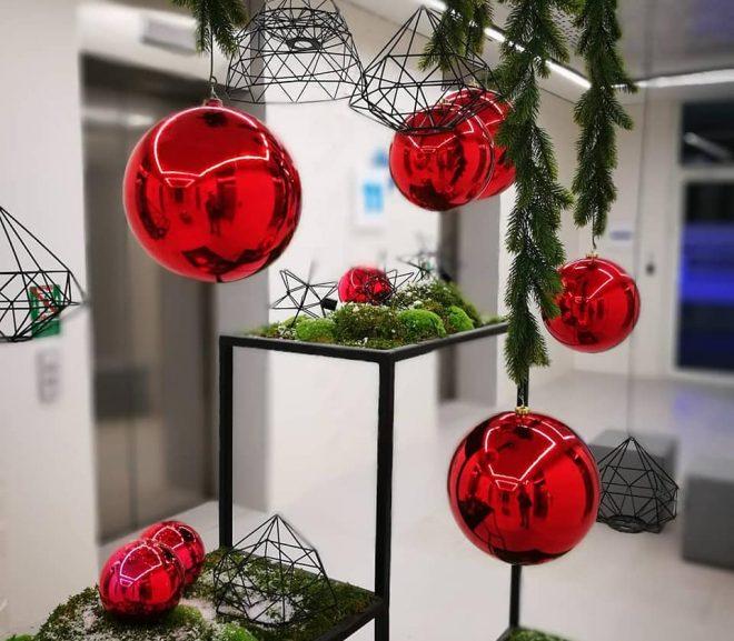 Święta Bożego Narodzenia 2018 w biurowcach.