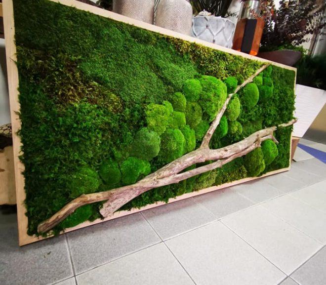 Zielony obraz – indywidualne zamówienie